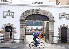 The home of Guinness UK