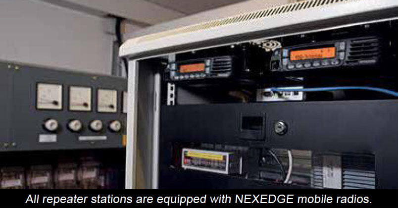 Kenwood NEXEDGE repeater stations