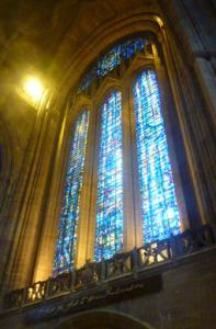 Liverpool Cathedral main window