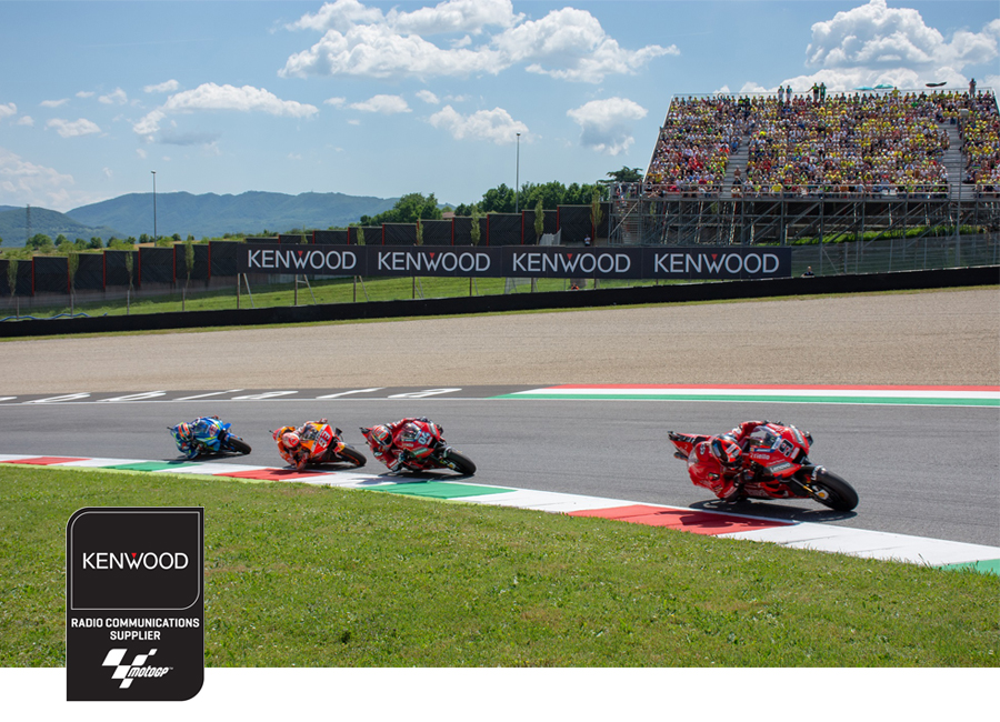MotoGP upgrades communications to Kenwood DMR Tier 3