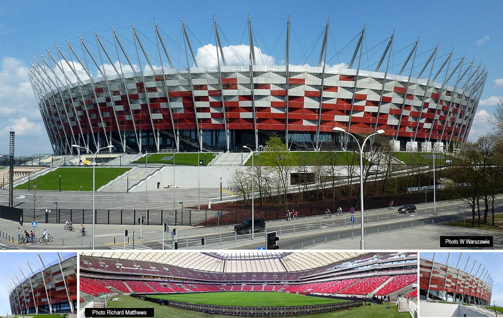 Stadion Narodowy, the national stadium for Poland