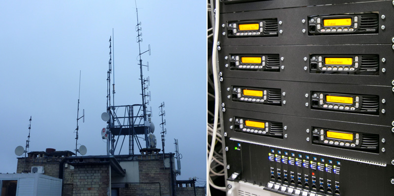 GSM operator masts and Repeaters