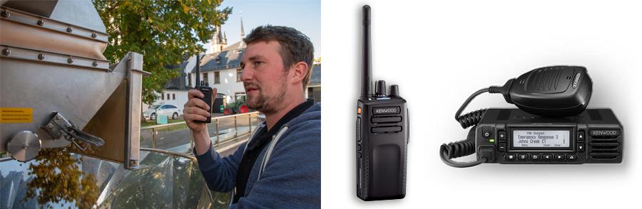 NX-3000 radios at Robert Weil