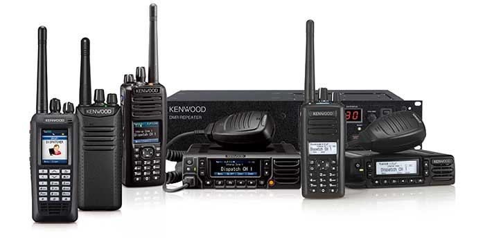 DMR range by Kenwood