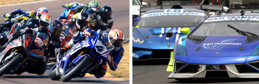 From historic racing to extreme supercars and superbikes