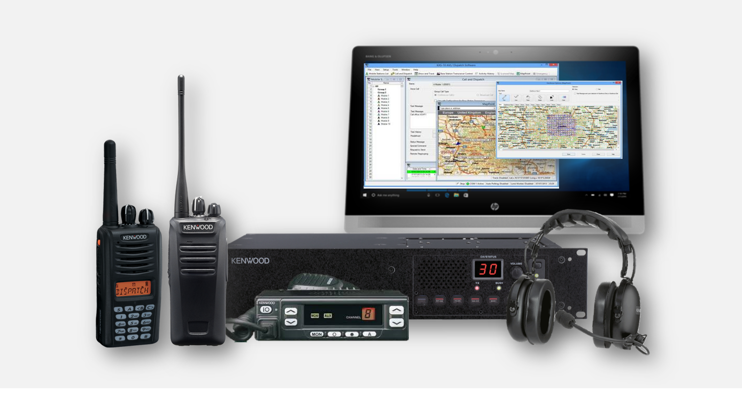 System Details - repeaters, base stations, hand-portable radios and software