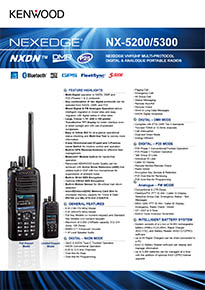 NX-5200/5300 EU Brochure now with DMR