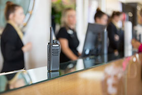 Hospitality DMR two-way radio solutions