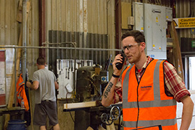Industrial DMR two-way radio solutions
