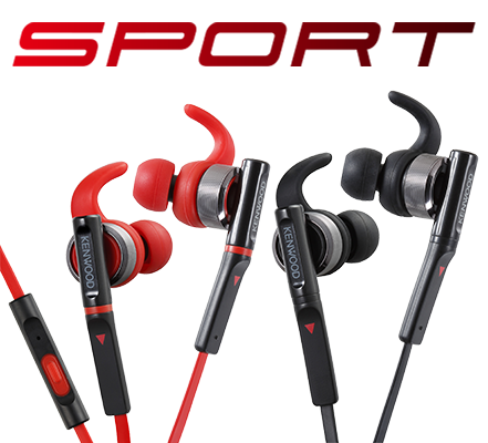 KH-SR800 Sports in-ear headphones