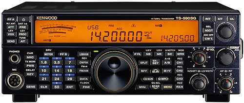 TS-590SG limited addition - Kenwood