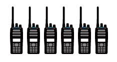 NX-3000 6 radios