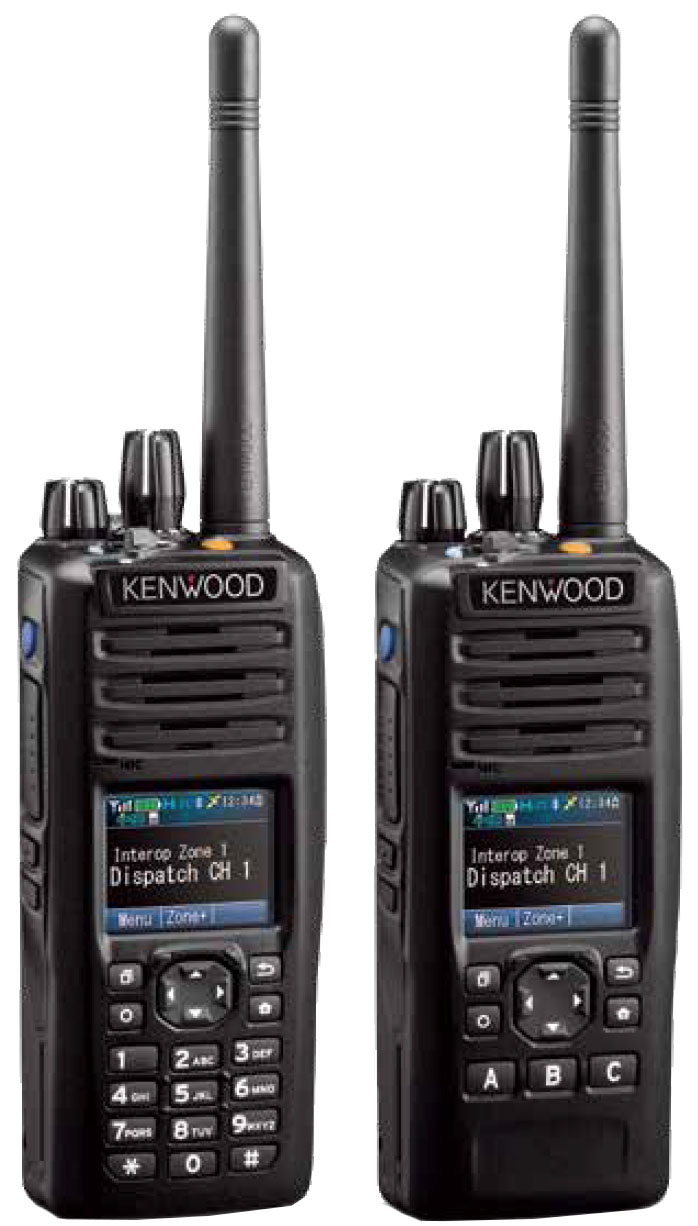 NX-5000 series hand portable radios