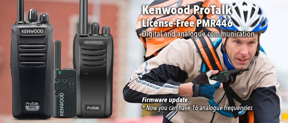 PMR446 new frequency ranges