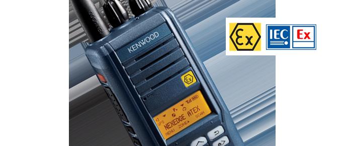 Kenwood ATEX radios