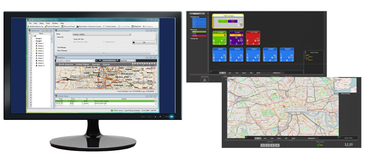 KAS-10 and KAS-20 AVL and Dispatch Software Suites