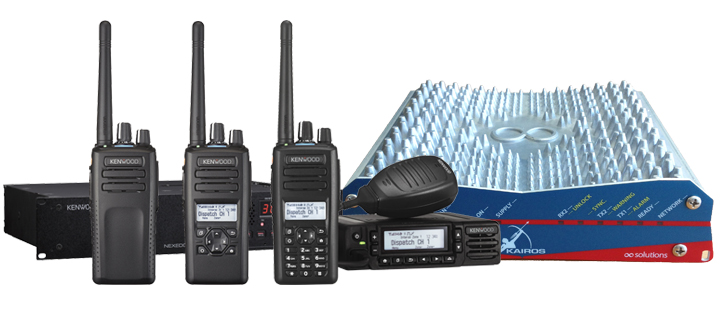 Kenwood DMR Tier 2 digital conventional and Tier 3 trunked systems