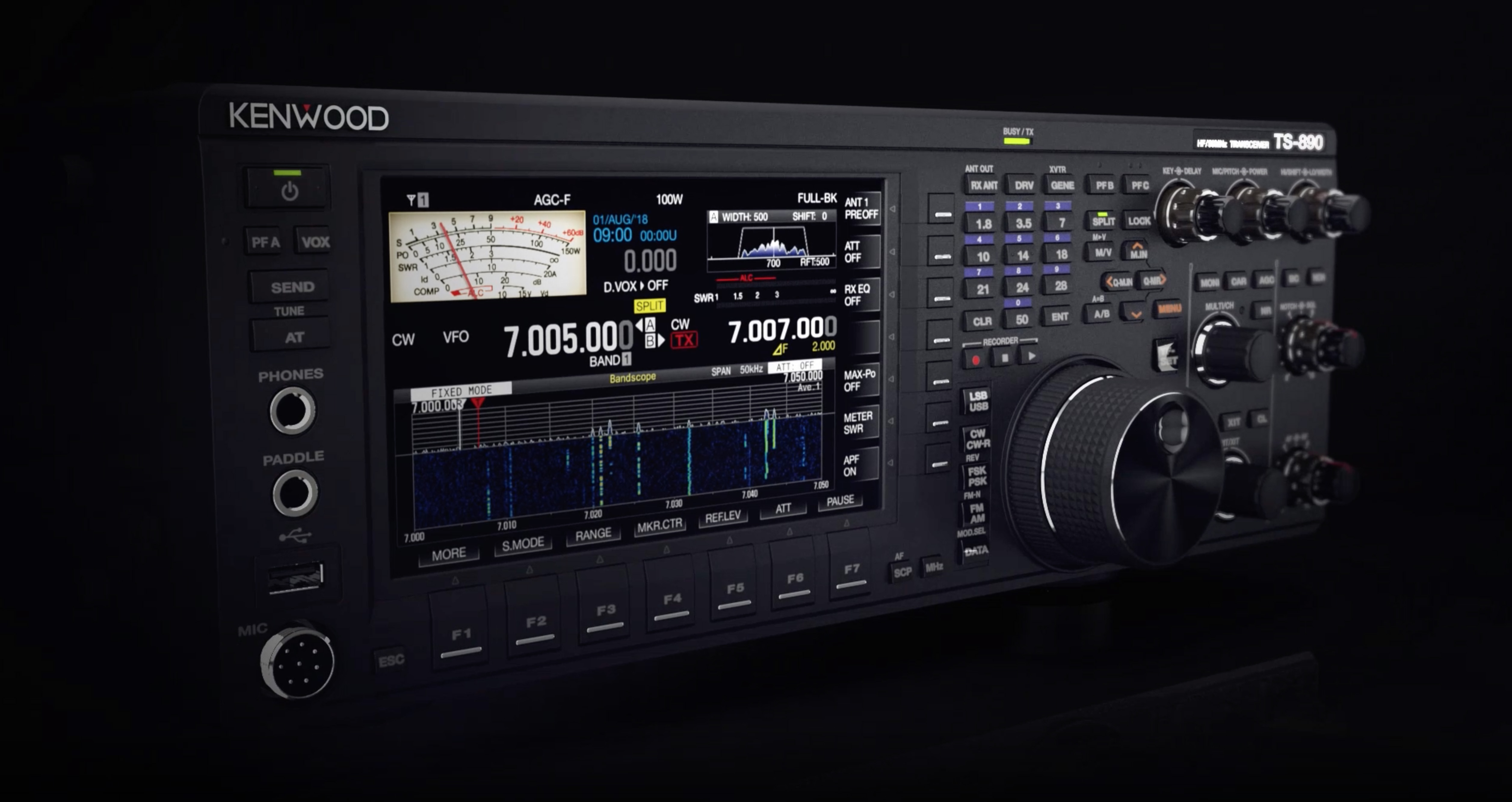 Press release for JVC-Kenwood Ham Radio Products